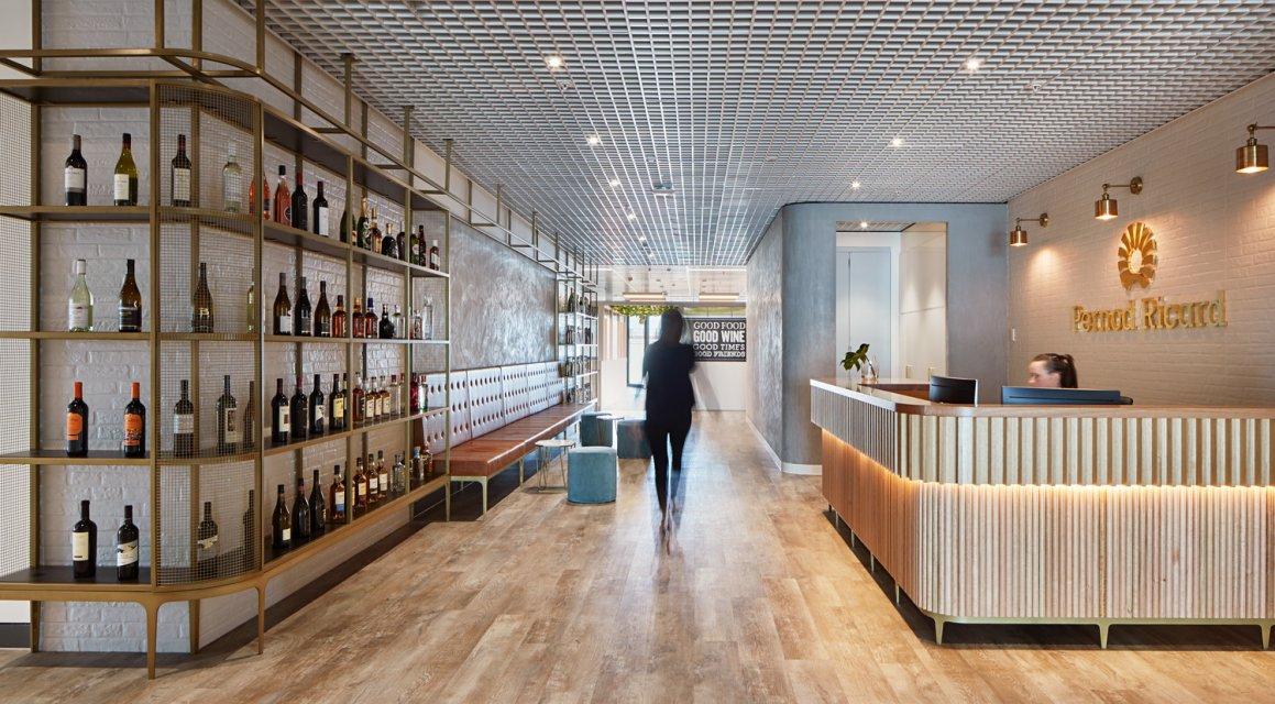 pernod ricard office design