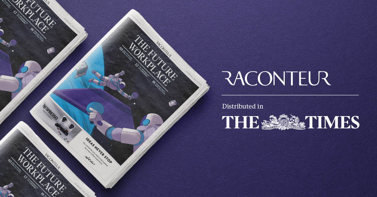 Raconteur report, featured in The Times