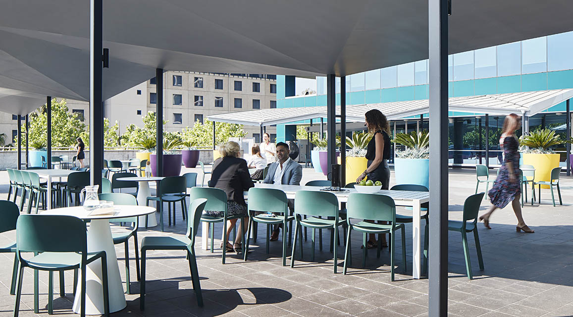 Merck Sydney Outdoor Area