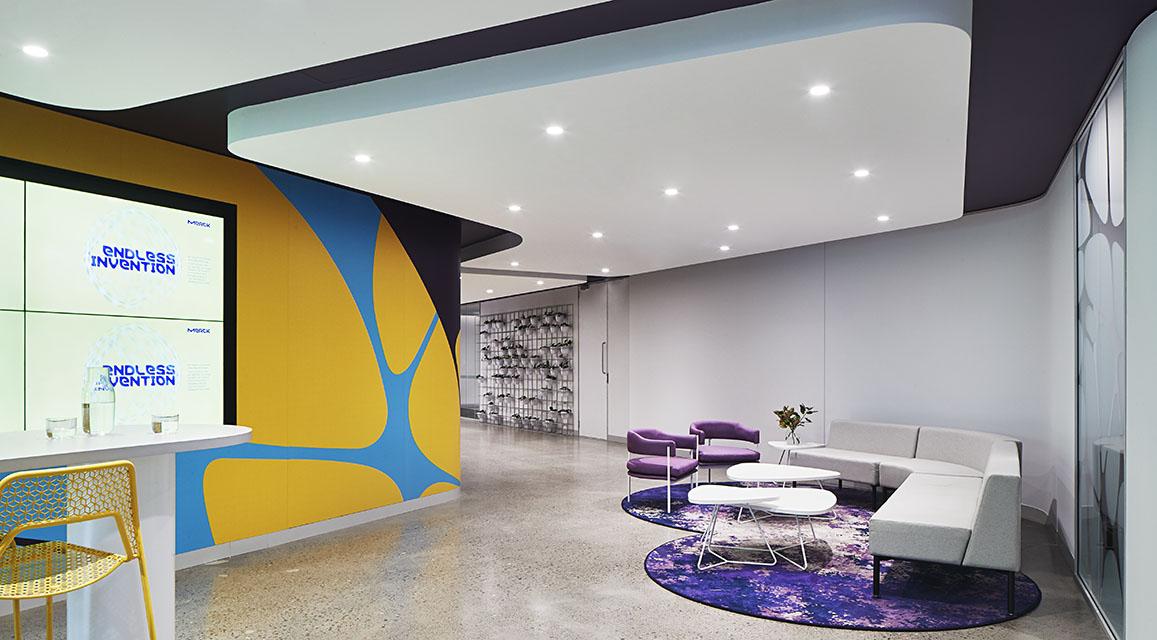 Merck Sydney Waiting Area